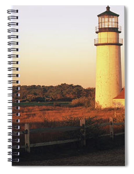 Lighthouse In The Field, Highland Spiral Notebook