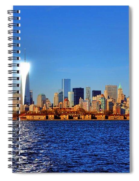 Lighthouse Manhattan Spiral Notebook