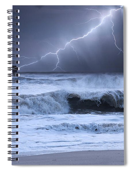Lightning Strike Spiral Notebook