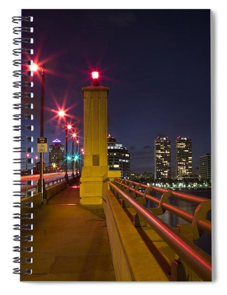 Lights At Night Spiral Notebook