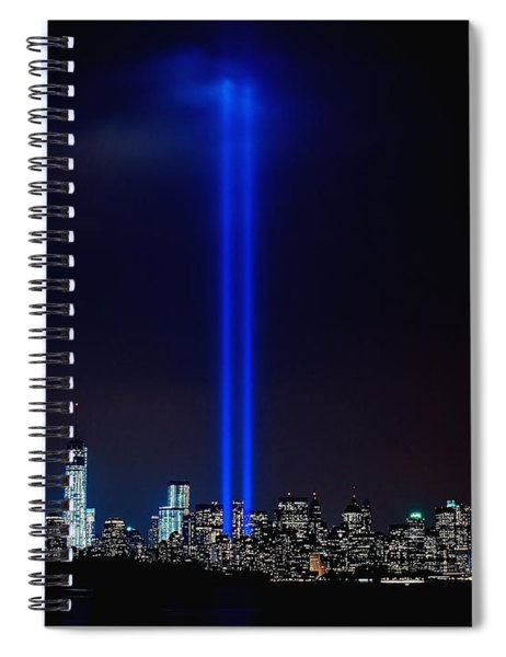 Lights Over Nyc Spiral Notebook