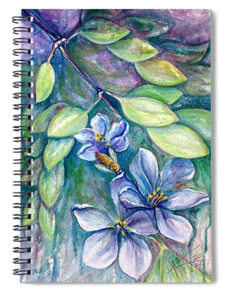 Lignum Vitae Spiral Notebook