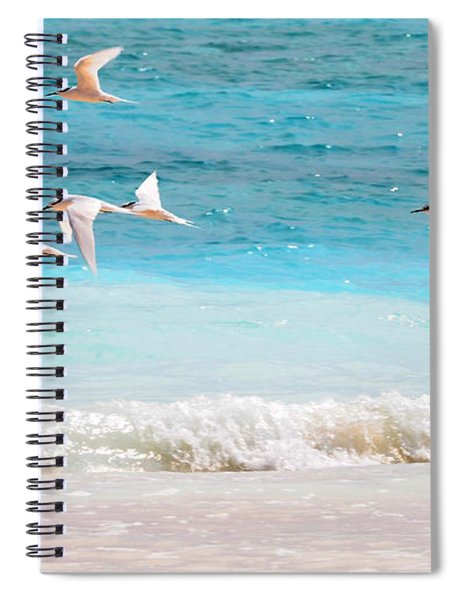 Like Birds In The Air Spiral Notebook