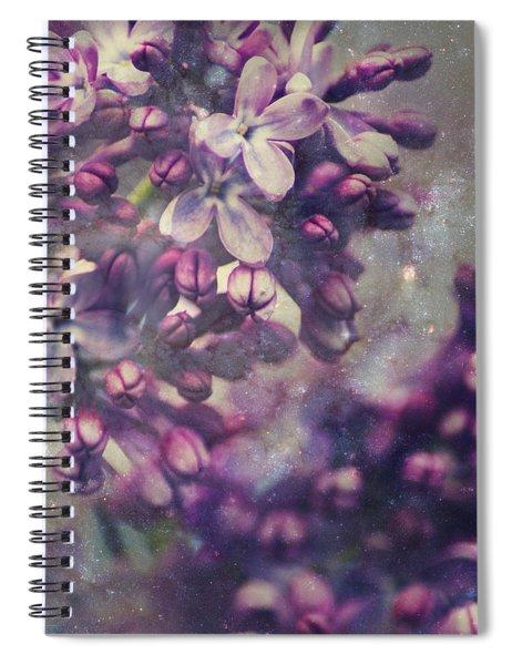 Lilac Spiral Notebook