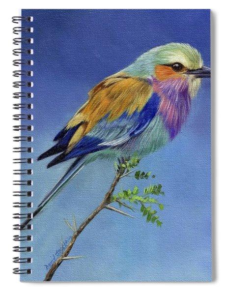 Lilacbreasted Roller Spiral Notebook