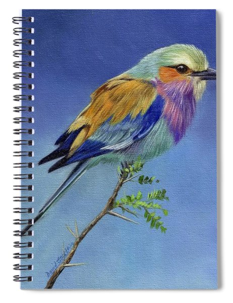 Lilacbreasted Roller Spiral Notebook