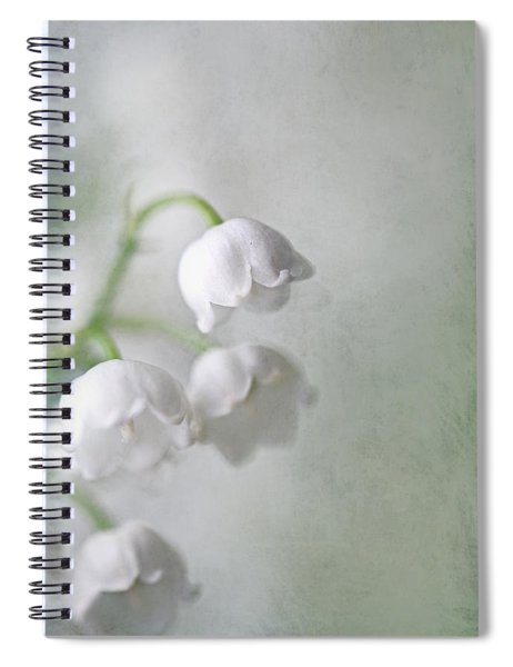 Lilies Of The Valley Spiral Notebook