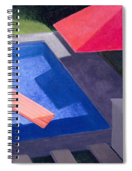 Lilo, 2004 Acrylic On Canvas Spiral Notebook