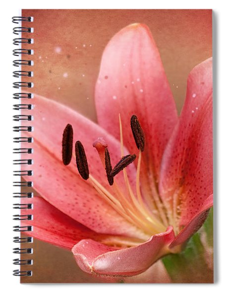 Lily Spiral Notebook