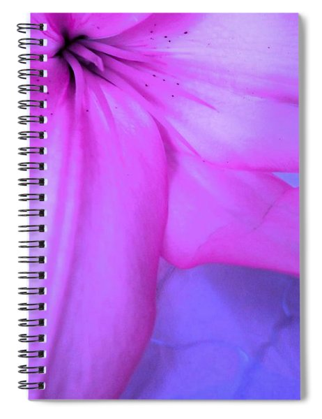 Lily - Digital Art Spiral Notebook