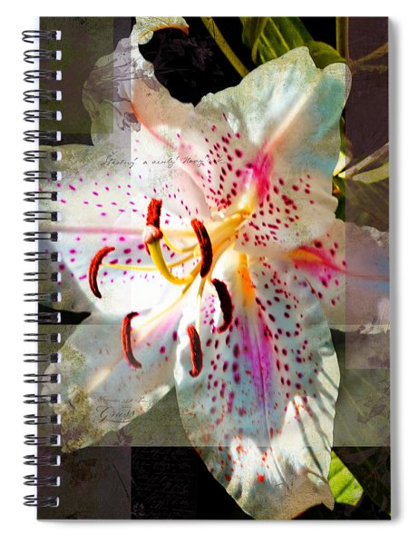 Lily From Whitefish Point Michigan Spiral Notebook