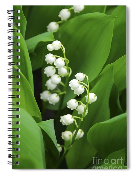 Lily-of-the-valley  Spiral Notebook