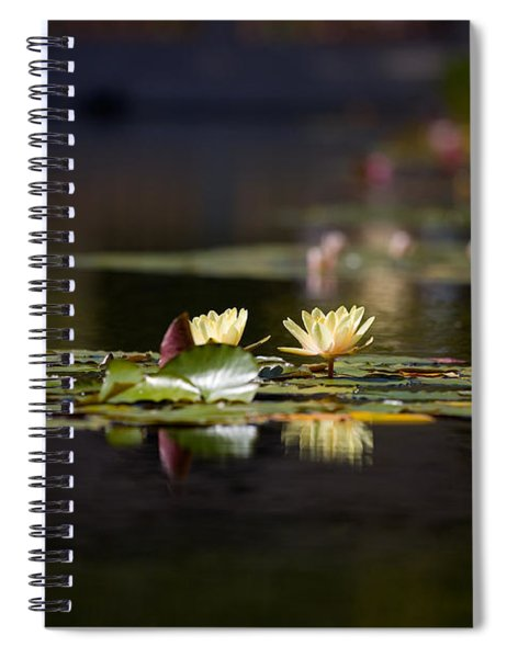Lily Pond Spiral Notebook