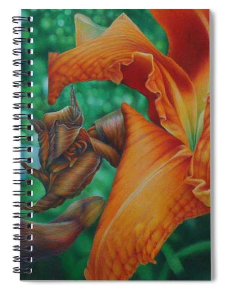 Lily's Evening Spiral Notebook