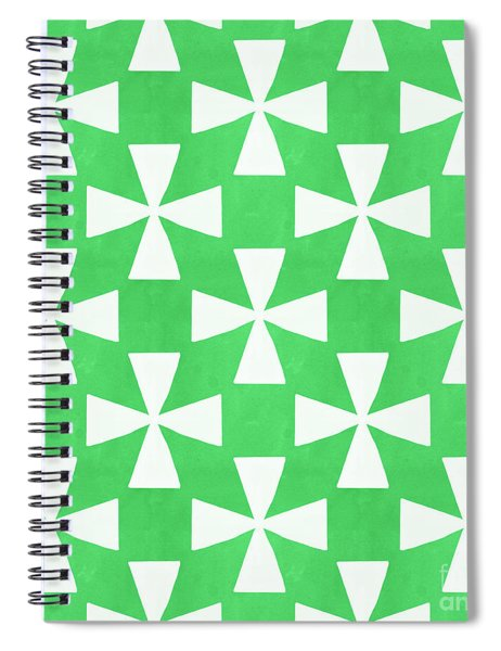 Lime Twirl Spiral Notebook