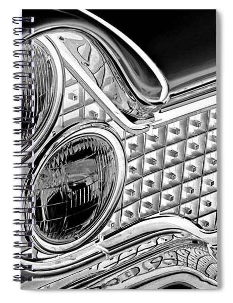 Lincoln Continental 1960 Abstract Spiral Notebook