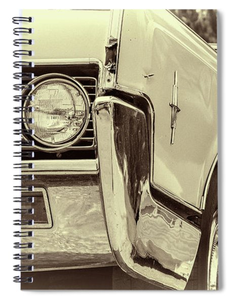 Lincoln Continental Spiral Notebook