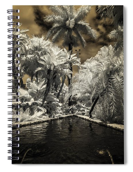 Lincoln Road Pool Spiral Notebook