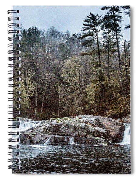 Linville Upper Falls Spiral Notebook
