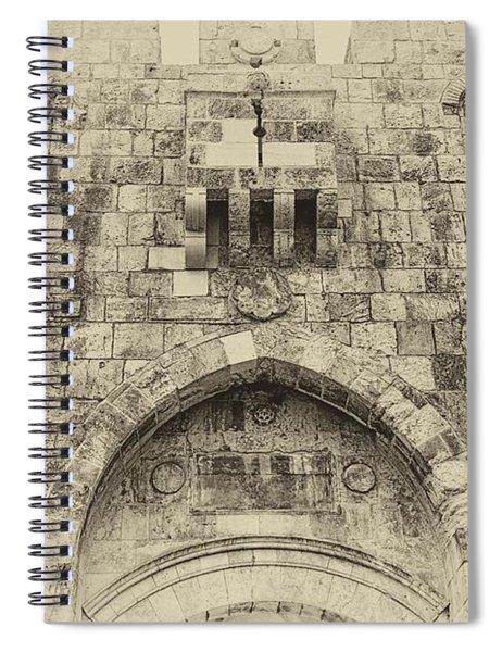 Lion Gate Jerusalem Old City Israel Spiral Notebook
