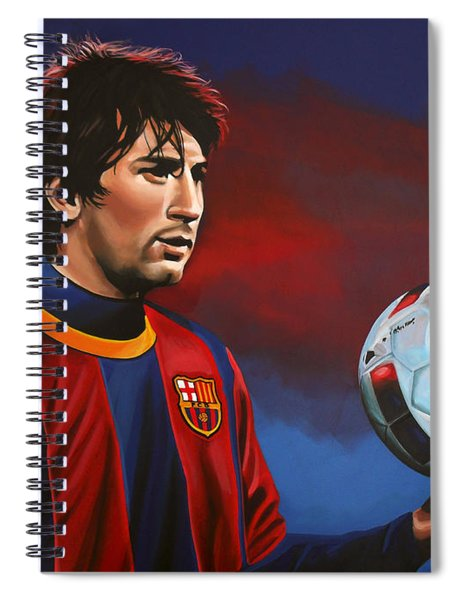 Lionel Messi 2 Spiral Notebook