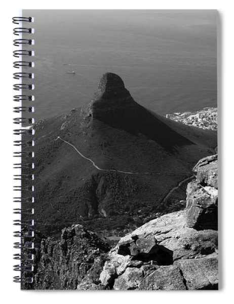 Lions Head - Cape Town - South Africa Spiral Notebook