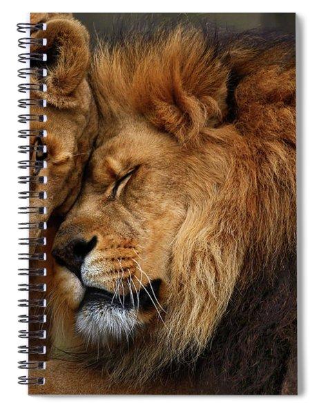Lions In Love Spiral Notebook