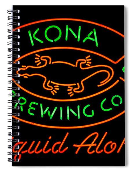 Liquid Aloha Spiral Notebook