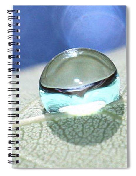 Liquid Drop Spiral Notebook