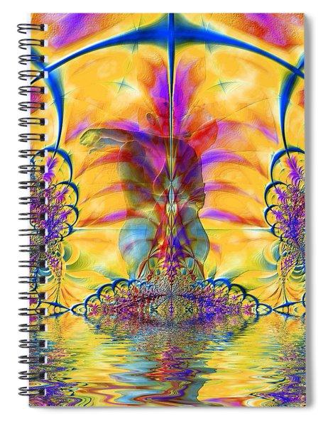 Liquid Lace Spiral Notebook