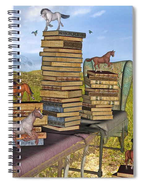 Literary Levels Spiral Notebook