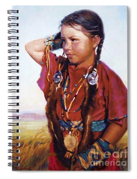 Little American Beauty II Spiral Notebook