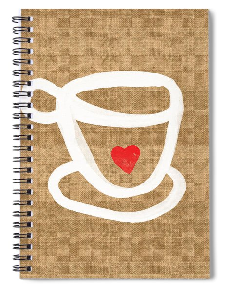 Little Cup Of Love Spiral Notebook