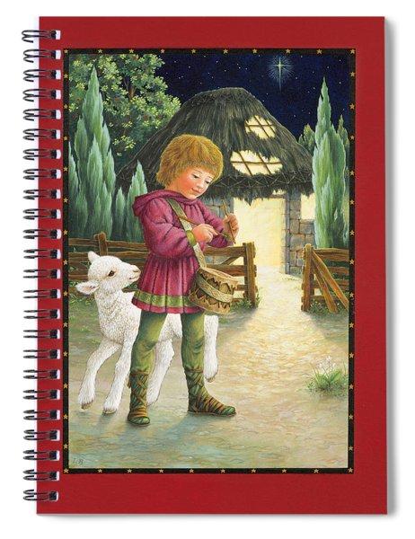Little Drummer Boy Spiral Notebook