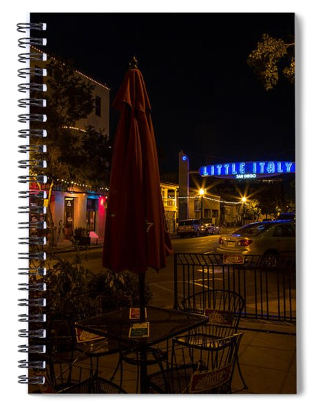 Little Italy  Spiral Notebook
