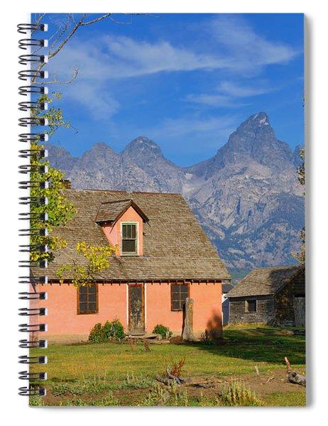 Little Pink House Spiral Notebook