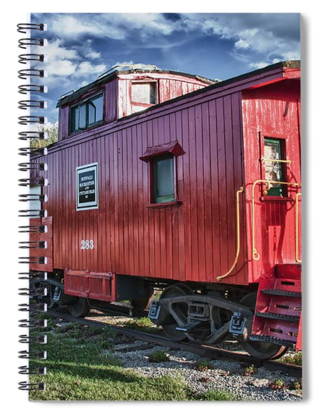 Little Red Caboose Spiral Notebook