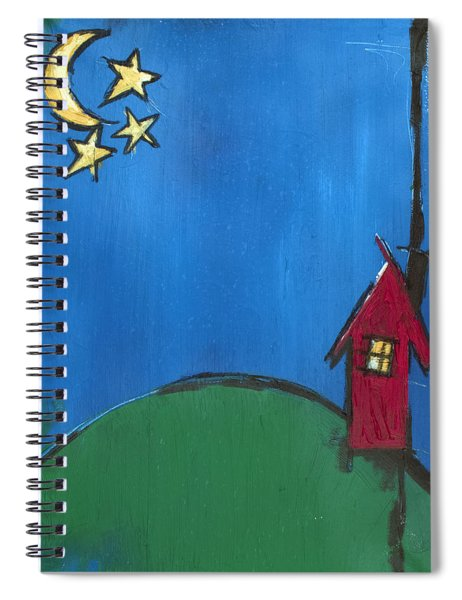 Little Red House Spiral Notebook
