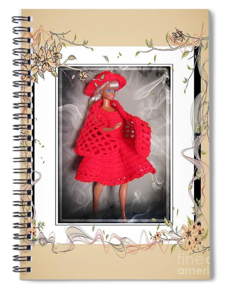 Little Red On The Town - Fashion Doll - Girls - Collection Spiral Notebook
