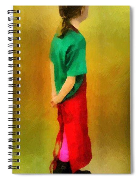 Little Shopgirl Spiral Notebook