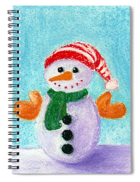 Little Snowman Spiral Notebook