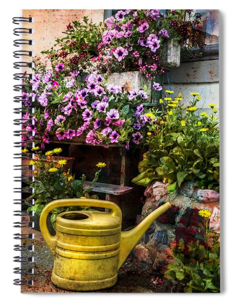 Little Swiss Garden Spiral Notebook