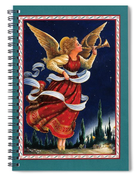 Little Town Of Bethlehem Spiral Notebook