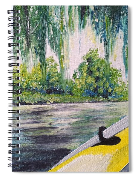 Little Yellow Boat Spiral Notebook