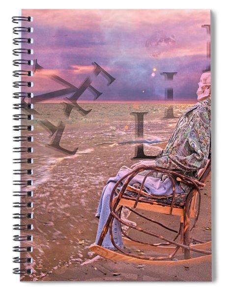 Live Life Spiral Notebook
