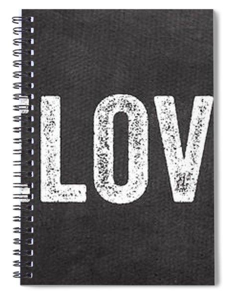 Live Love Eat Spiral Notebook