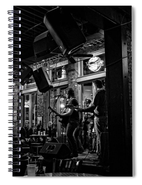 Live Music And Beer In Nashville Tennessee Spiral Notebook