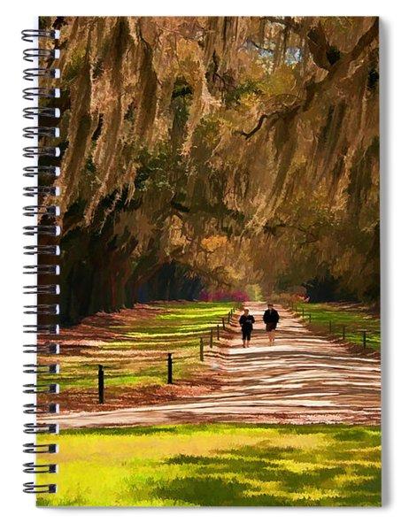 Live Oaks Spiral Notebook
