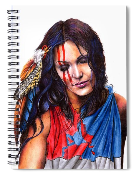 Living In Two Worlds Spiral Notebook