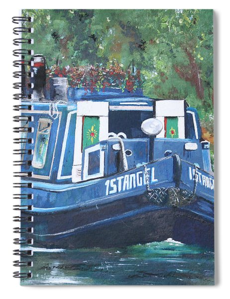 Living On The River Spiral Notebook